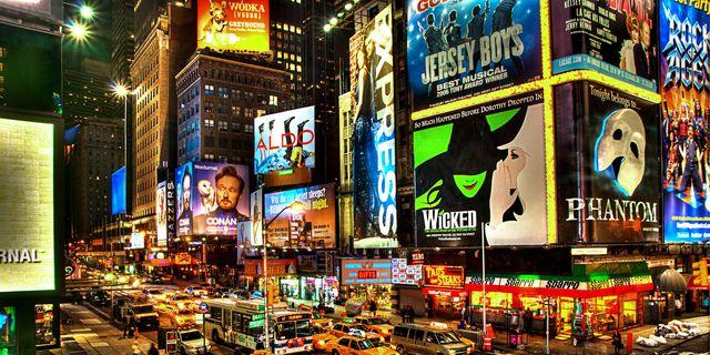 Musicales en Broadway