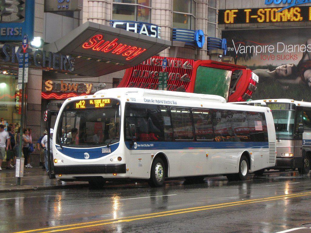 Moverse en Bus en Nueva York